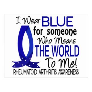 Significa el mundo a mí artritis reumatoide tarjetas postales
