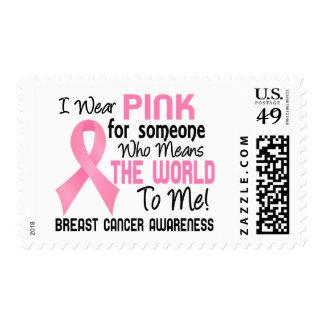 Significa el mundo a mí cáncer de pecho 2 sello