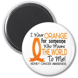 Significa el mundo a mí cáncer del riñón imán redondo 5 cm