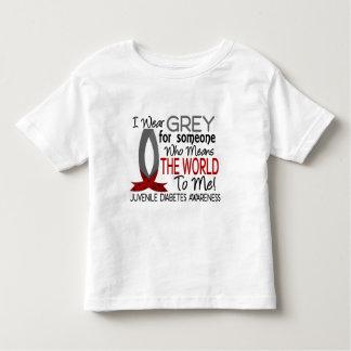 Significa el mundo a mí diabetes juvenil playera de niño