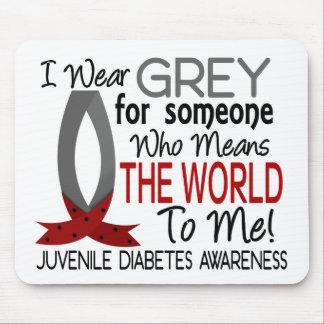 Significa el mundo a mí diabetes juvenil alfombrillas de raton