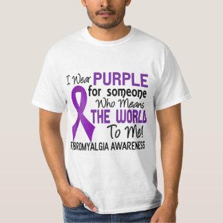 Significa el mundo a mí el Fibromyalgia 2 Remera