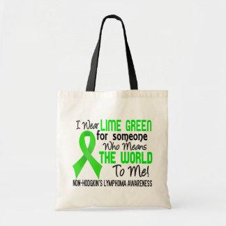 Significa el mundo a mí el linfoma Non-Hodgkin 2 Bolsa De Mano