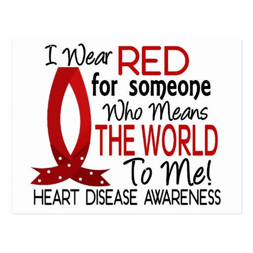 Significa el mundo a mí enfermedad cardíaca postal