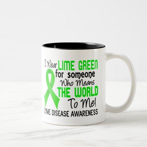 Significa el mundo a mí enfermedad de 2 Lyme Tazas