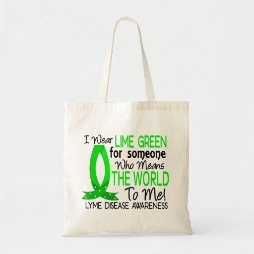 Significa el mundo a mí enfermedad de Lyme Bolsa De Mano