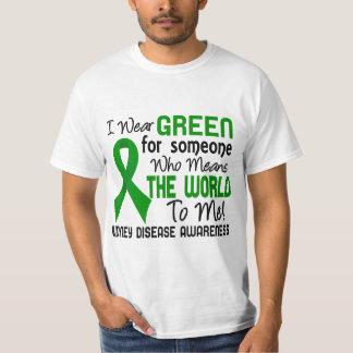 Significa el mundo a mí enfermedad de riñón 2 camisas