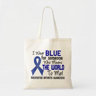 Significa el mundo a mí la artritis reumatoide 2 bolsa tela barata