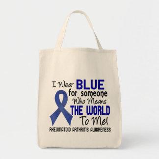 Significa el mundo a mí la artritis reumatoide 2 bolsas