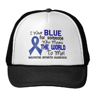 Significa el mundo a mí la artritis reumatoide 2 gorro de camionero