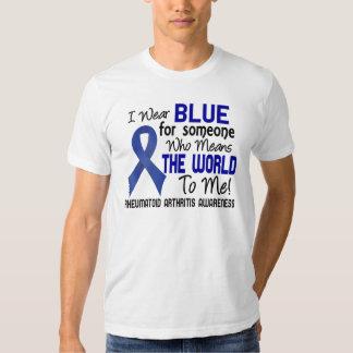 Significa el mundo a mí la artritis reumatoide 2 playera