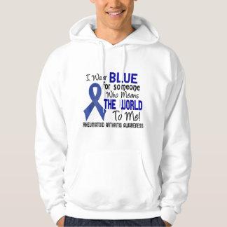 Significa el mundo a mí la artritis reumatoide 2 sudadera pullover