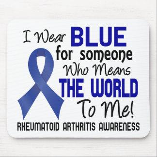 Significa el mundo a mí la artritis reumatoide 2 tapetes de raton