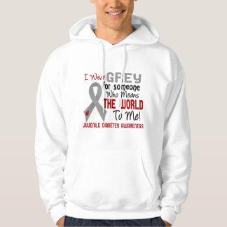 Significa el mundo a mí la diabetes juvenil 2 pulóver