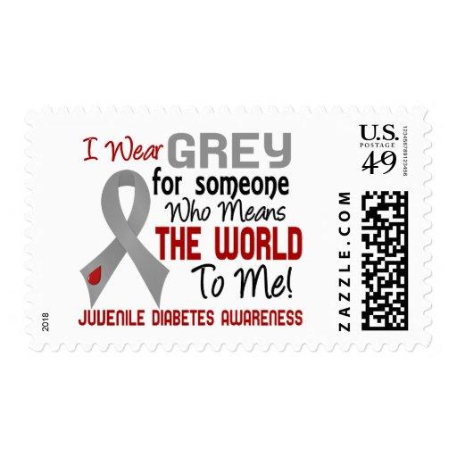 Significa el mundo a mí la diabetes juvenil 2 franqueo