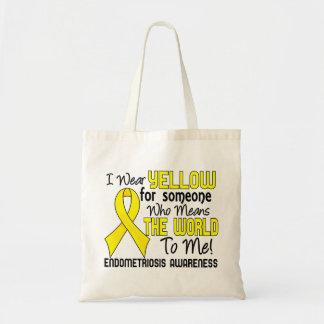 Significa el mundo a mí la endometriosis 2 bolsa tela barata