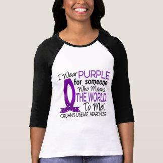 Significa el mundo a mí la enfermedad de Crohn Camisas