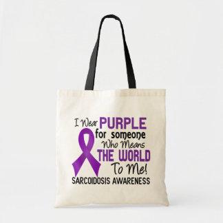 Significa el mundo a mí la sarcoidosis 2 bolsas de mano