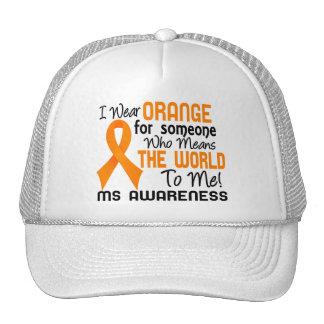 Significa el mundo a mí ms 2 gorra