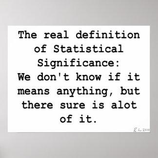 Significación estadística póster