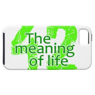 Significado 42 de la casamata del iPhone de la iPhone 5 Fundas