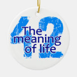 Significado 42 del ornamento de la vida, personali ornato