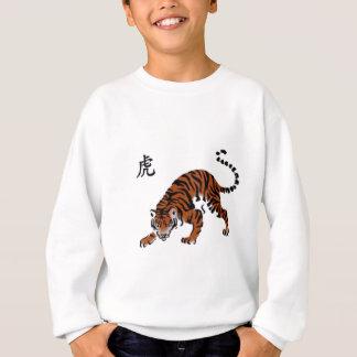 """Significado americano """"tigre """" del carácter chino camisas"""