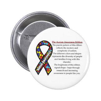 Significado de la cinta del autismo pins