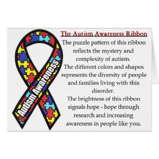 Significado de la cinta del autismo felicitaciones