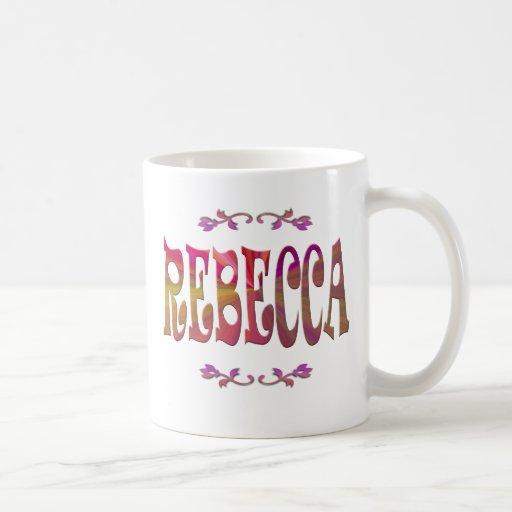 Significado de la taza de Rebecca