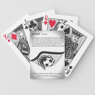 Significado de los naipes del fútbol baraja cartas de poker
