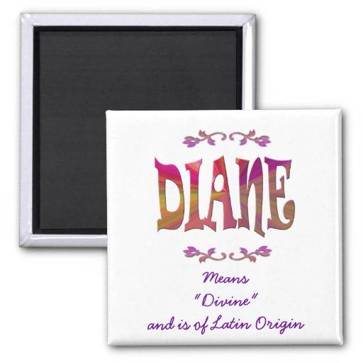Significado del imán de Diane
