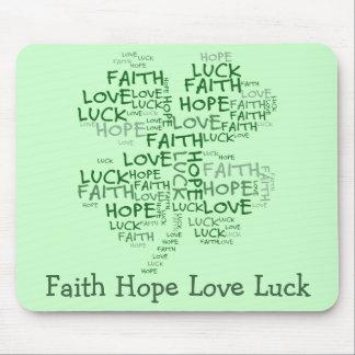 Significado del trébol de cuatro hojas: Esperanza, Tapete De Ratones