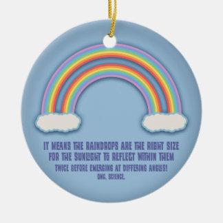 Significado doble del arco iris ornamento para reyes magos