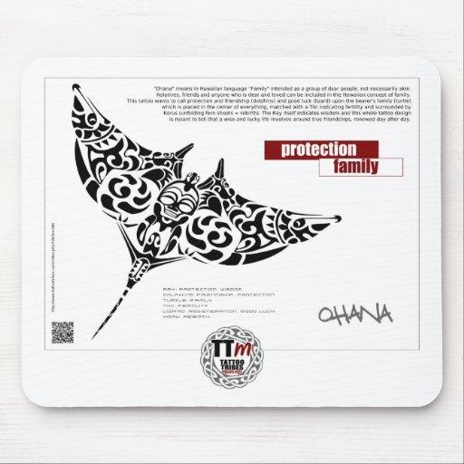 Significados del TT - rayo de manta de OHANA Alfombrillas De Raton