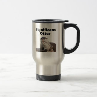 Significant Otter 15 Oz Stainless Steel Travel Mug