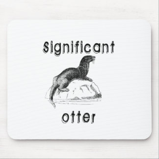 Significant Otter Mouse Pad