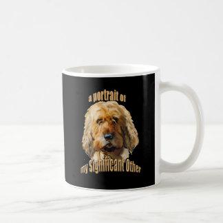 significant otterhound coffee mug