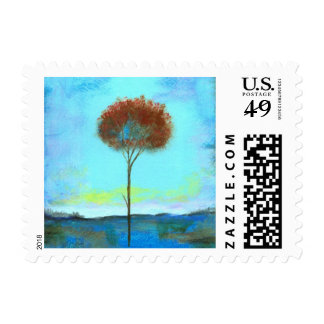 Significant Small Postage Stamps From Painting