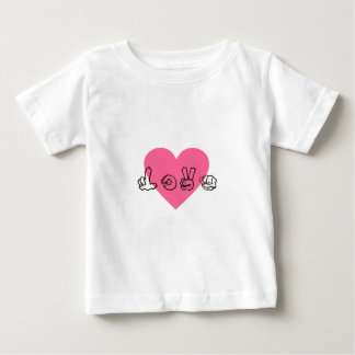 Signing Love Baby T-Shirt