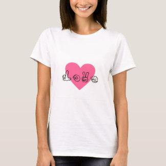 Signing Love T-Shirt