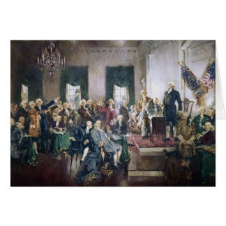 Signing of the Constitution by Howard C. Christy Card