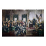 Signing of the Constitution by Howard C. Christy Posters