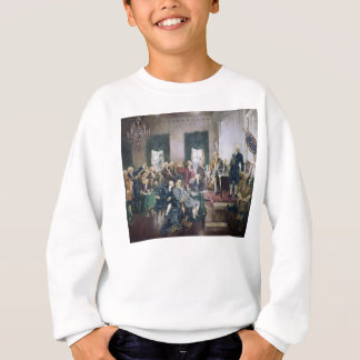 Signing of the Constitution by Howard C. Christy Sweatshirt