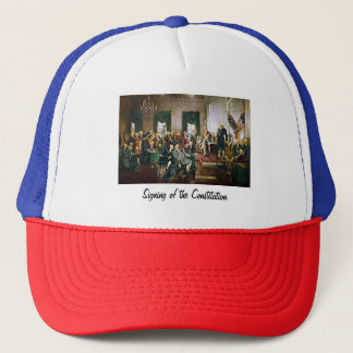 Signing of the Constitution Trucker Hat
