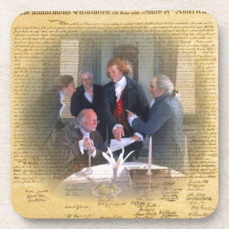 Signing Of The Declaration Of Independence Beverage Coaster