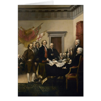 Signing of the Declaration of Independence Greeting Card