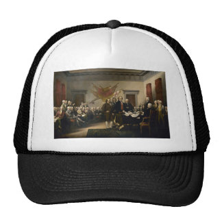Signing of the Declaration of Independence Trucker Hat
