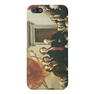 SIGNING OF THE DECLARATION OF INDEPENDENCE iPhone 5 COVERS