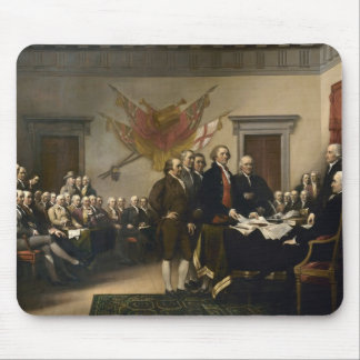 Signing of the Declaration of Independence Mouse Pad